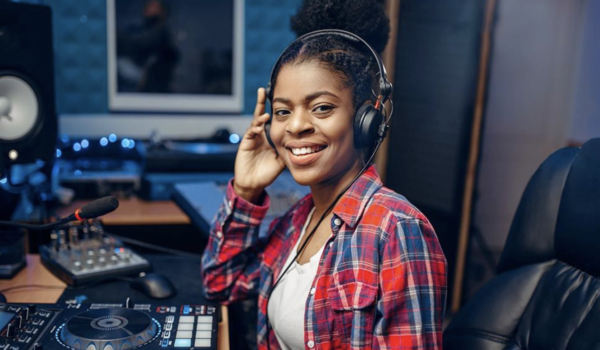 Black female producers in the UK music industry